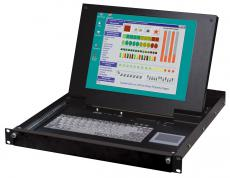 Industrial LCD Drawer (Rack Console) Computer Monitors