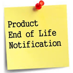 product end of life notification