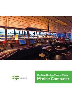 Custom Project Study: Marine Computer